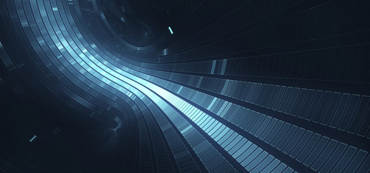 3D abstract science fiction futuristic background