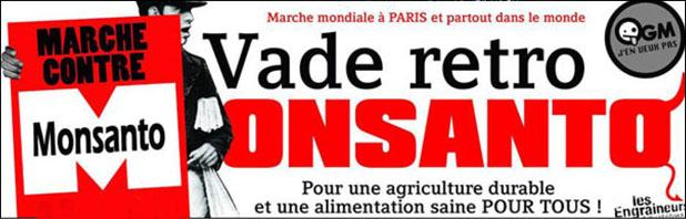 Marche contre Monsanto - 23 mai 2015