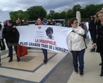 "Samedi 24 mai 2014, Trocadéro. Manifestion contre ""l'impensable"""