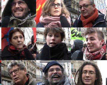 Manifestation 9 mars 2016 contre projet loi travail