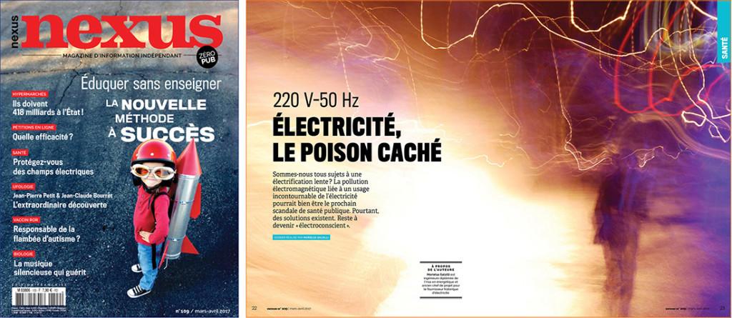 électricité poison caché Nexus 109