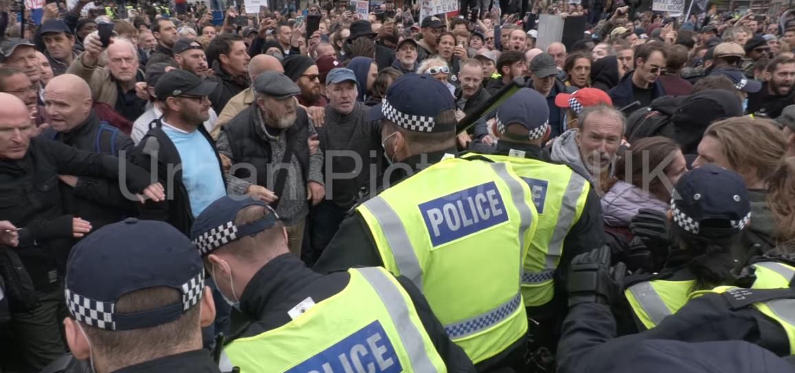 Manifestation Angleterre