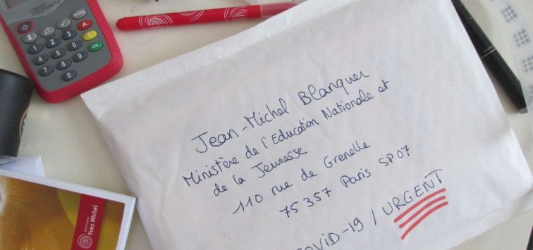 lettre Blanquer